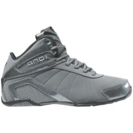Кроссовки баскетбольные AND1 Splash Mid grey