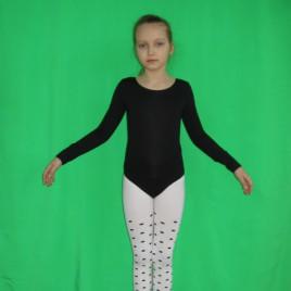 Купальник гимнастический (размеры 28-34)