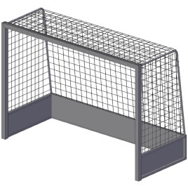 Хоккейные ворота для игры на траве SpW-AX-1