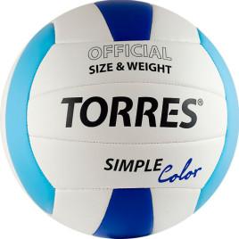 Мяч воллейбольный TORRES SIMPLE COLOUR