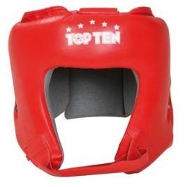 Шлем боксерский TOP TEN 4068 Red