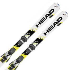 Горные лыжи детские HEAD  SupershapeTeam + Крепления SL45