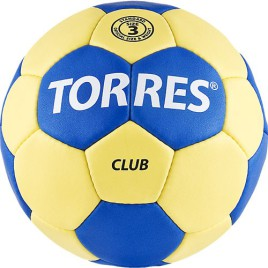 Мяч гандбольный Torres Club p3