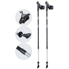 Палки для скандинавской ходьбы телескопические AQD-B017 grey