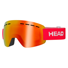 Горнолыжная маска HEAD Solar FMR  red