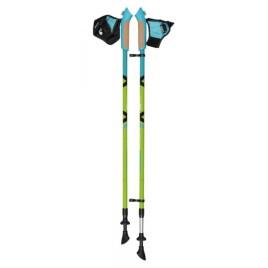 Палки для скандинавской ходьбы телескопические AQD-B015 green