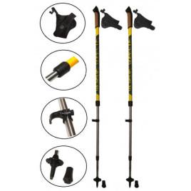 Палки для ходьбы с усилием Elastic Energy yellow