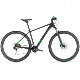 Велосипед CUBE 2019 ANALOG 27.5 black/green