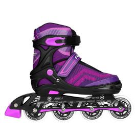 Роликовые коньки TECHTEAM FOXTER purple 2018