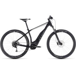 Велосипед CUBE 2018 ACID HYBRID ONE 400 black/white
