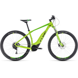 Велосипед CUBE 2018 ACID HYBRID ONE 400 green/black