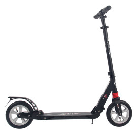 Самокат АTEOX PRIME 300 с надувными колесами black
