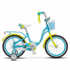 Велосипед STELS Jolly 16″ blue/green