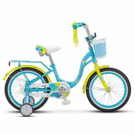 Велосипед STELS Jolly 16″ blue/green