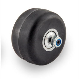 Ролик классический каучук 70 х 40 мм с храповым механизмом