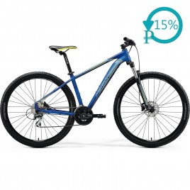 Велосипед Merida BIG.NINE 20-D blue/silver 2020