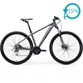 Велосипед Merida BIG.NINE 20-D black/silver 2020