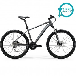 Велосипед Merida BIG.SEVEN 20-D black/silver 2020