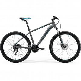 Велосипед Merida BIG.SEVEN 40-D silver/blue 2020