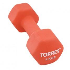 Гантели Torres 4.0 кг (пара)