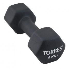 Гантели Torres 5.0 кг (пара)