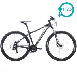 Велосипед Merida BIG.NINE 10-MD black/silver 2020