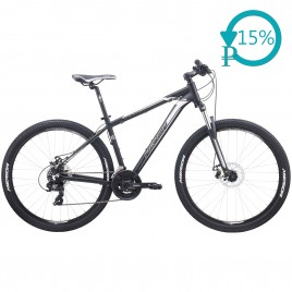Велосипед Merida BIG.SEVEN 10-MD black/silver 2020